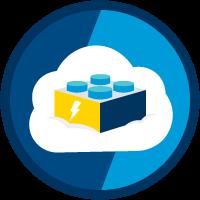 Composants WebLightning et données Salesforce icon