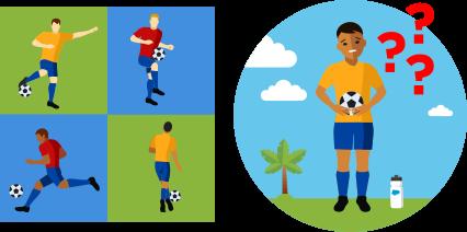 サッカーにはさまざまな動きがあり、新入りの選手にはそのやり方がわからないことがあります。