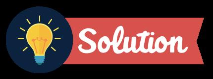 フィードバックで最も重要なのは解決策を見つけることです。