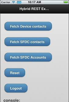 Sample Hybrid App