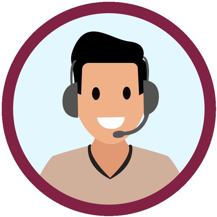 Agente del servicio de atención al cliente