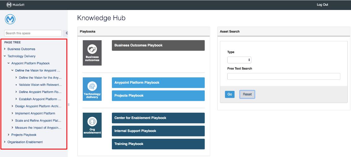 Catalyst Knowledge Hub homepage