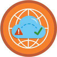Network Intrusion Response and Recovery icon