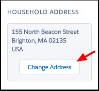 Change household address