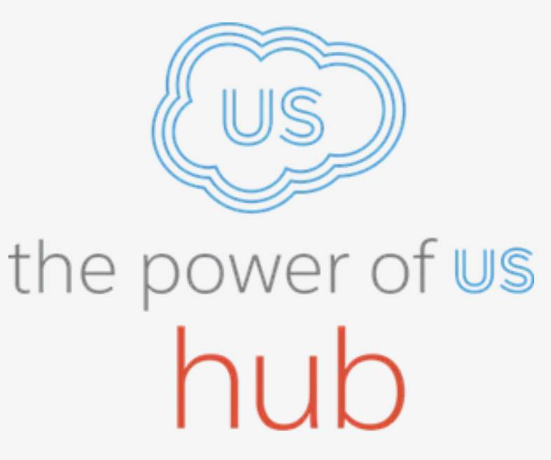 The Power of Us Hub logo.