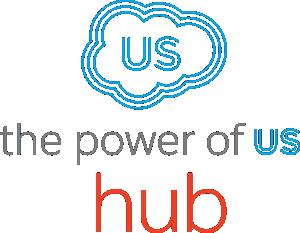 Power of Us Hub logo