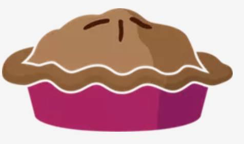 Illustration représentant une tarte.