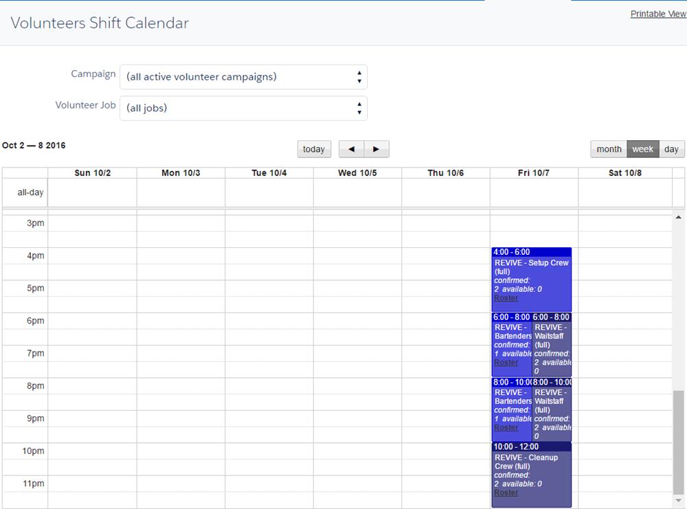 Calendario Turnos.Unidad Crear Turnos De Trabajo Salesforce Trailhead