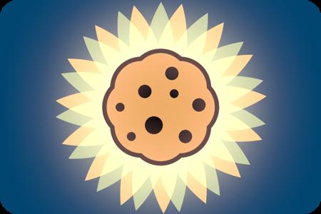 Aqui está o seu biscoito!