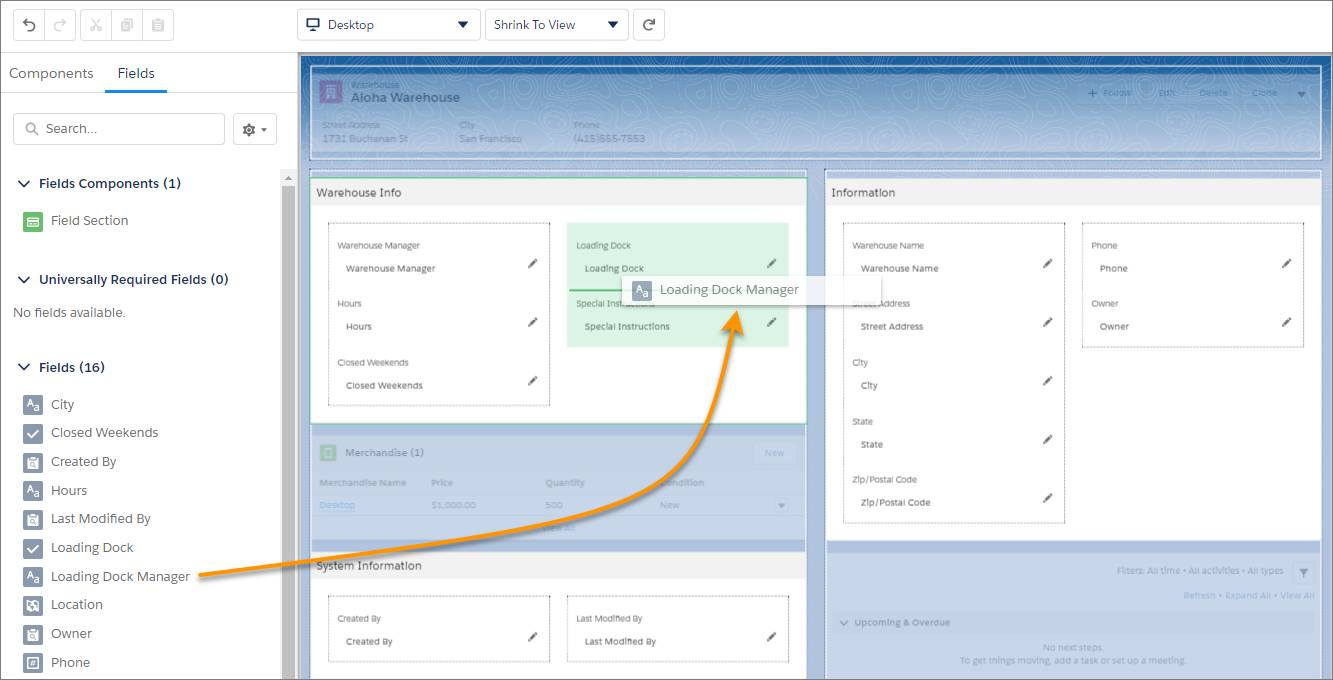 Add Fields to the Lightning App Builder using Dynamic Forms