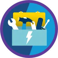 Lightning Experience Customization badge icon.
