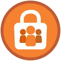 Data Security badge icon.