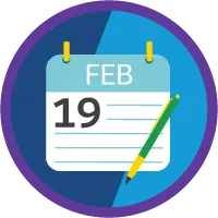 Lightning Experience Productivity badge icon.