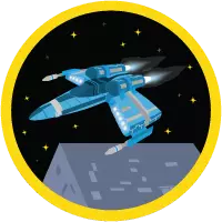 Build a Battle Station App badge icon.