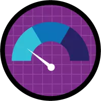 Create Reports and Dashboards for Sales and Marketing Managers badge icon.