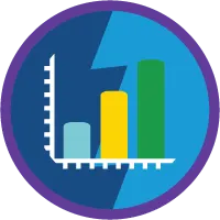 Reports and Dashboards for Lightning Experience badge icon.