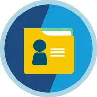 Accounts & Contacts for Lightning Experience badge icon.