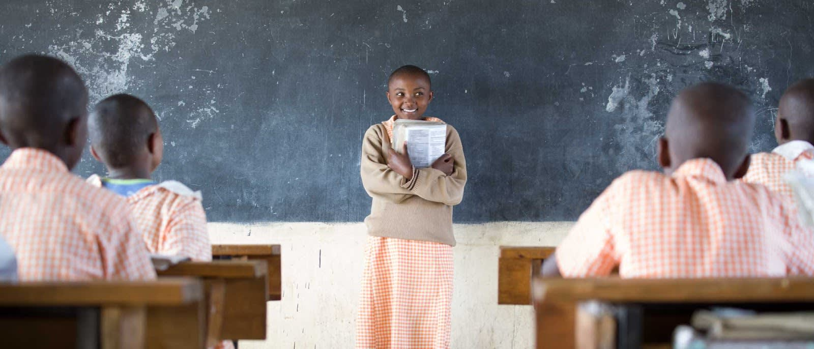Girls in school are key to environmental sustainability and equality.