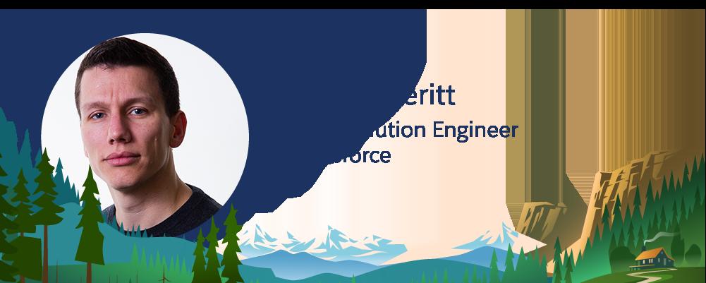 Imagem de David Everitt, funcionário da Salesforce.