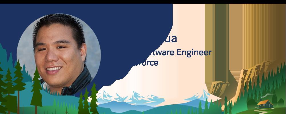 Bild des Salesforce-Mitarbeiters Jimmy Hua.