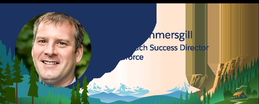 Imagem de Mike Summersgill, funcionário da Salesforce.
