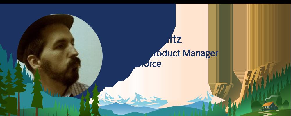 Imagem de Eric Schultz, funcionário da Salesforce.