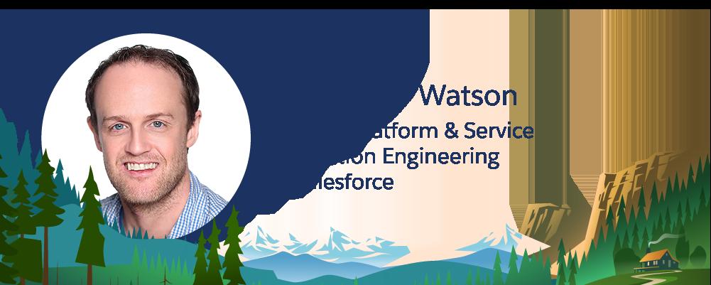 Salesforce 従業員 Matthew Watson の画像。
