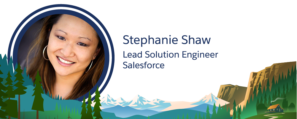 Image of Salesforce employee, Stephanie Shaw.