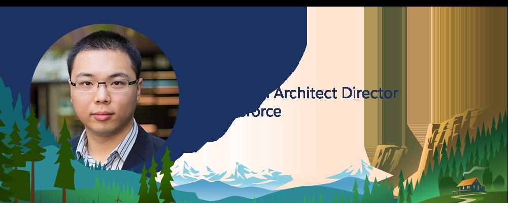 Salesforce 従業員 Jsun Pe の画像。