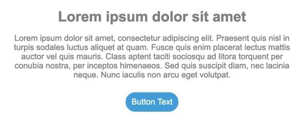 Captura de tela que mostra as alterações feitas no botão no menu do botão.
