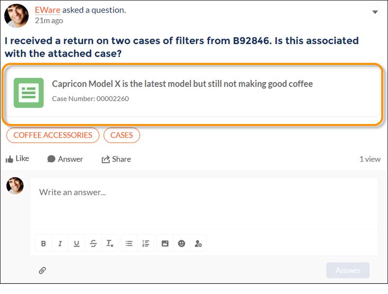 Charge de travail d'application d'éditeur enrichi publiée avec un élément de fil