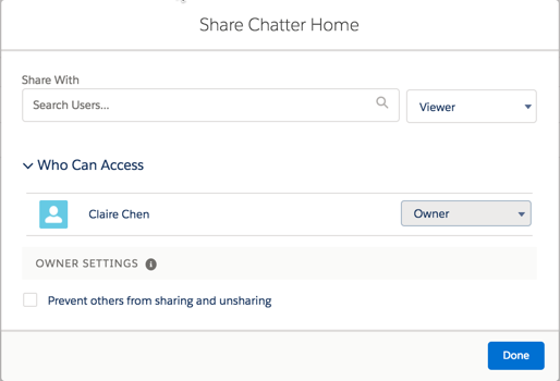 Collaborate Using Chatter Unit | Salesforce Trailhead