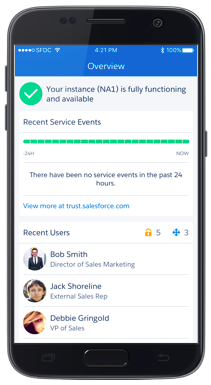 SalesforceA lets you manage Salesforce on the go.