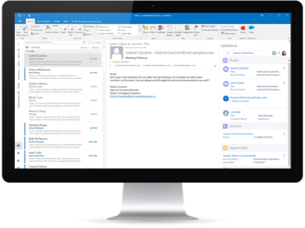 Connect your email to Salesforce