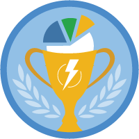Sales Reports for Lightning Experience badge