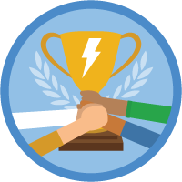 Lightning Experience for Sales badge