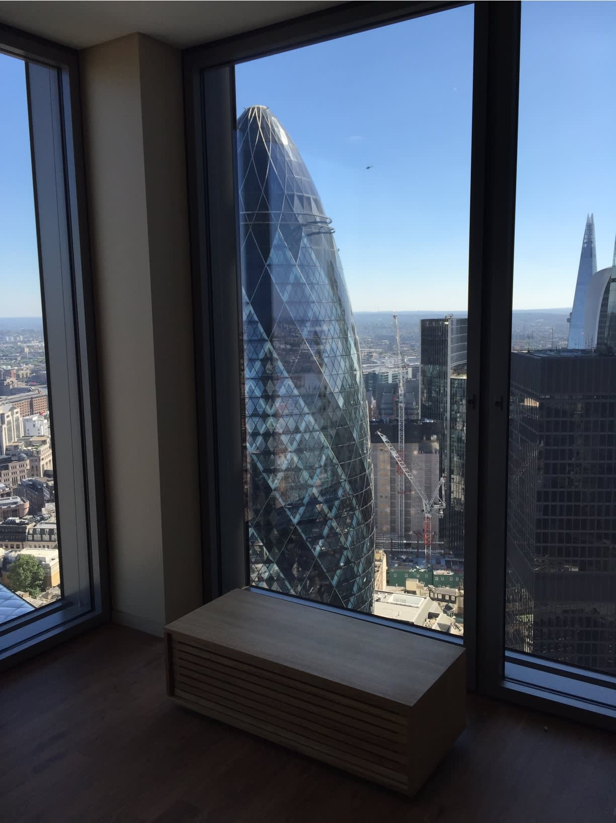 Photo of Salesforce office with view of city scape