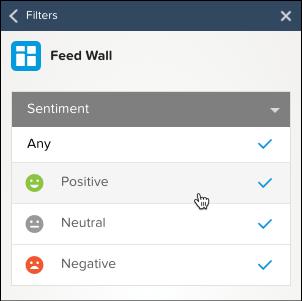 Feed Wall Filter options screenshot