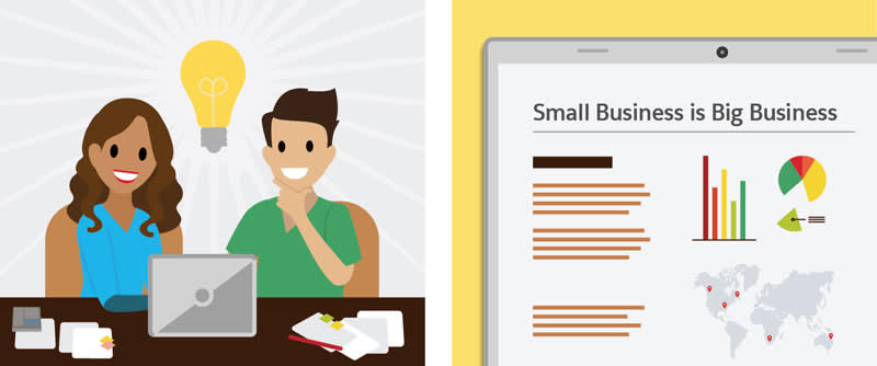 Small business have an outsized impact on the U.S. and world economies.