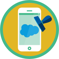 Branded Mobile Apps with mySalesforce badge