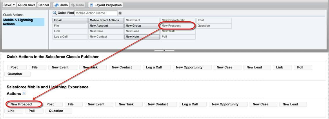 Create Global Quick Actions Unit | Salesforce Trailhead