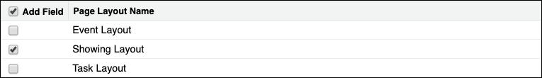 Capture d'écran de Présentation de visite sélectionnée pour le champ Commentaires