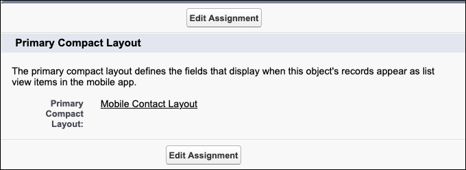 Una captura de pantalla del nuevo formato compacto seleccionado como formato principal