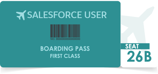 Graphic of a boarding pass