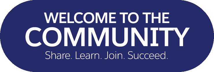 Welcome to the Salesforce Trailblazer Community.