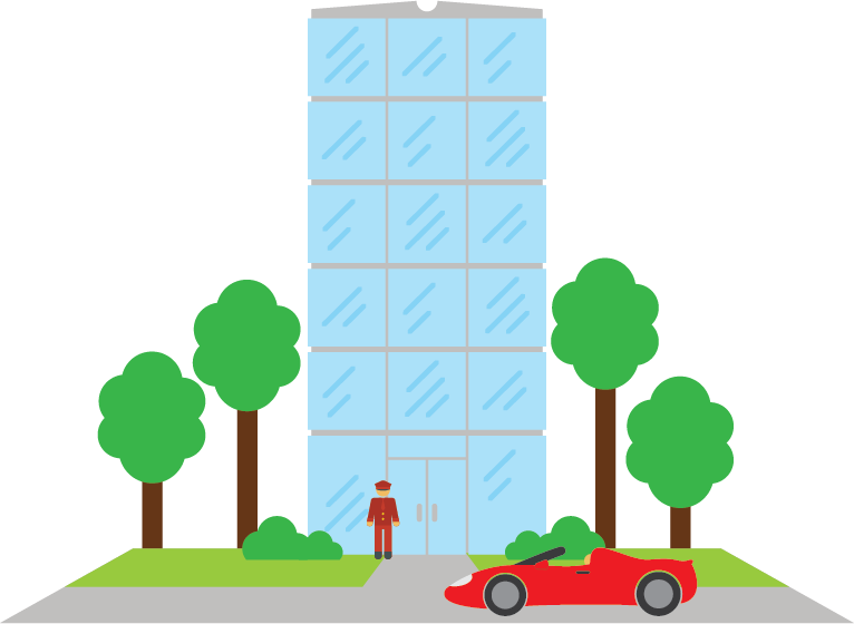 Cloud computing is a lot like an apartment building.