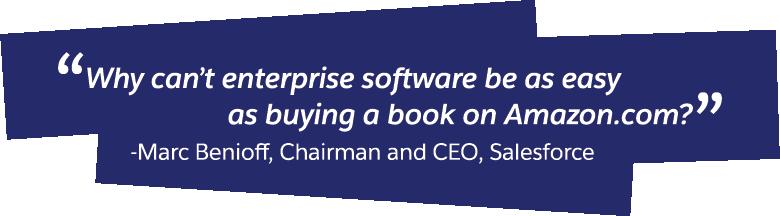 Salesforce began with a novel idea.