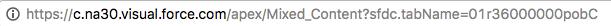 Chrome セキュアサイトアイコン