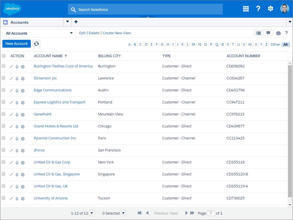 Screenshot der Beispielkonsole