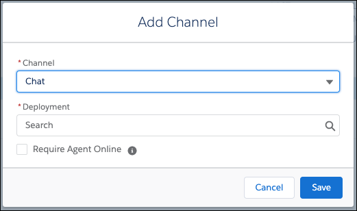 Adicione um canal a um bot.